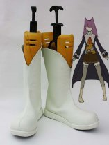 Unlight Chat d'argent Ayn White Cosplay Boots