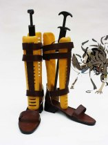 Unlight Loups Garous Sprout Brown Cosplay Boots