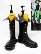 Vocaloid GUMI Black PU Cosplay Boots