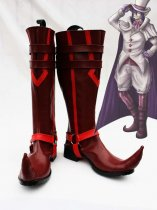 Blue Exorcist / Ao no Exorcist Mephisto Pheles Red Cosplay Show Boots