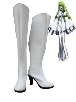 Code Geass Cosplay C.C. Medium Heel Cosplay Boots
