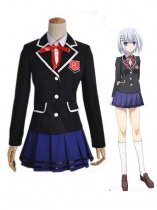 Date A Live Cosplay Tobiichi Origami Cosplay Costume/School Uniform