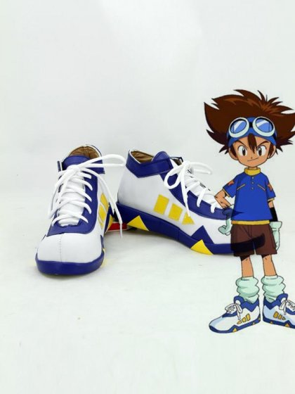 Digimon Adventure Tai Kamiya Anime Cosplay Shoes