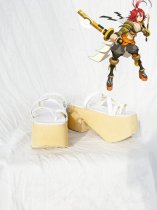 Hack//G.U. Alkaid White Cosplay Shoes