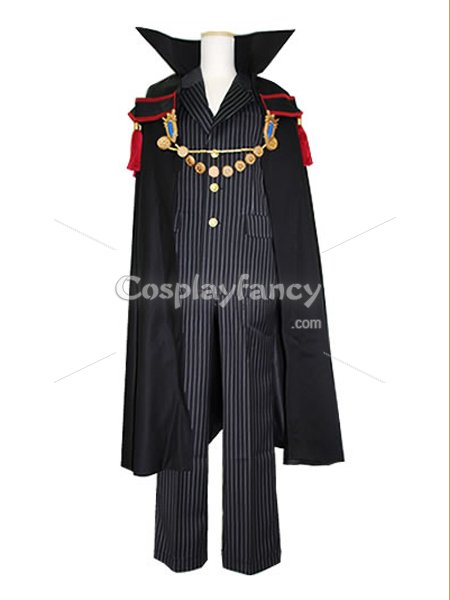 Hitman Reborn Cosplay Giotto Vongola Primo Cosplay Costume