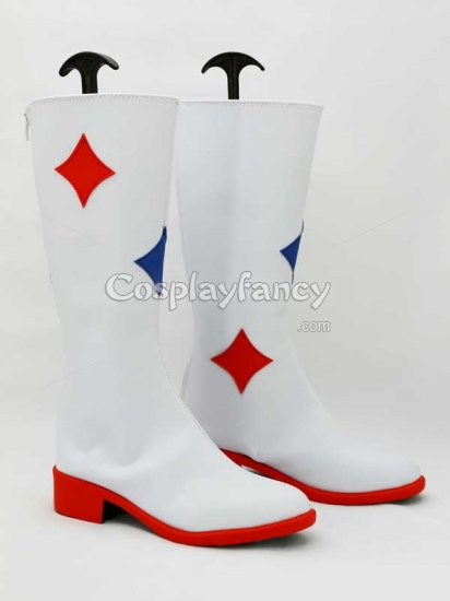 Idolm@ster Movie Amami Haruka Cosplay Boots - Click Image to Close