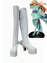 Macross Frontier White Sheryl Nome Cosplay Boots