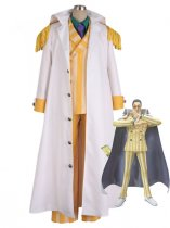 One piece Borsalino Kizaru Navy Admiral Uniform Cosplay Costume