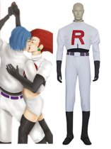 Pokemon Cosplay Team Rocket James Cosplay Costume