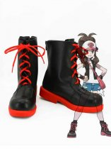 Pokemon Cosplay Touko Black & Red Cosplay Boots