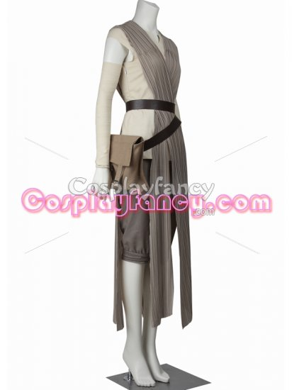 Star Wars: Episode VII- The Force Awakens Rey Cosplay Costume - Click Image to Close