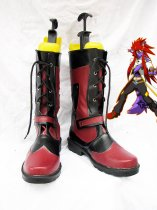 Tales of the Abyss Luke fon Fabre Red & Black Cosplay Boots