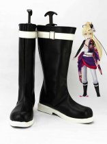 Vocaloid Kagamine Len Black & White Cosplay Boots