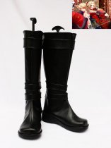 Vocaloid Rin & Len Artificial Leather Cosplay Boots