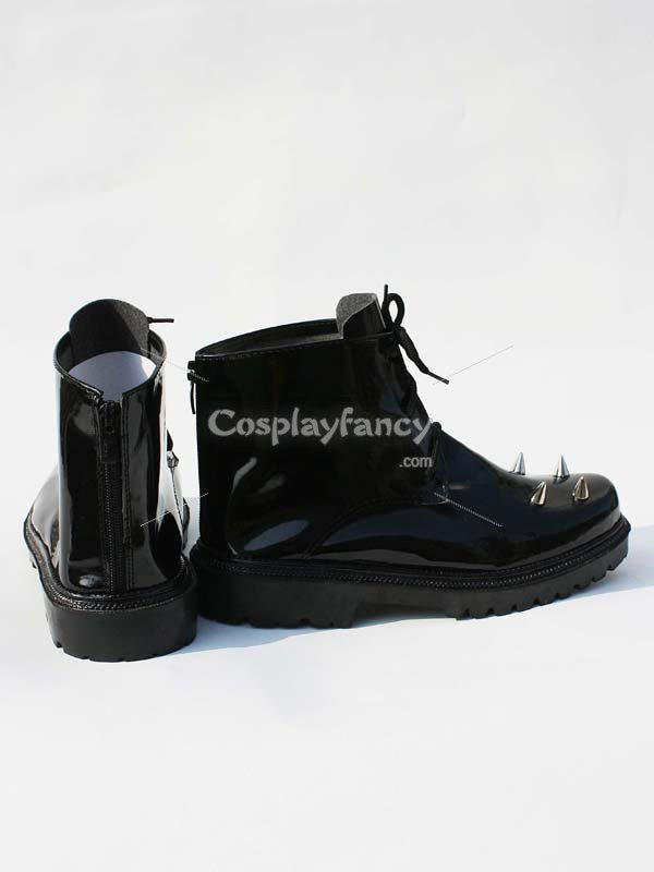 Vocaloid Secret Police PU Cosplay Shoes