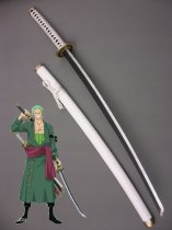 2015 One Piece Cosplay Roronoa Zoro Wood Cosplay Sword Ichimonji