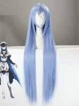 Akame ga Kill! General Esdeath Ice Blue Cosplay Wig
