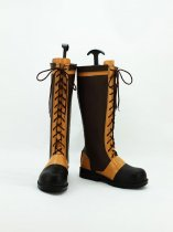 Black Butler Ciel Phantomhive Brown Long Cosplay Boots