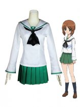 Girls und Panzer Miho Nishizumi Ooarai Girls High School Uniform Cosplay Costume
