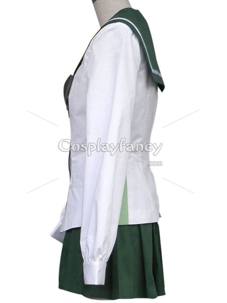 Highschool of the Dead Rei Miyamoto School Uniform Cosplay Costume
