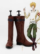 Karneval Yogi Brown Cosplay Boots
