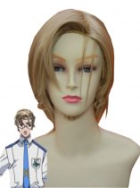 Macross F Michael Blanc Cosplay Wig