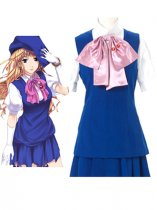 Macross Frontier Cosplay Sheryl Nome Blue Cosplay Costume