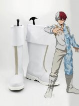 My Hero Academia Shoto Todoroki Anime Cosplay Boots