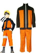 Naruto Cosplay Naruto Uzumaki Teenager Uniform Cosplay Costume