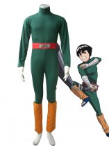 Naruto Cosplay Spandex Rock Lee Cosplay Costume