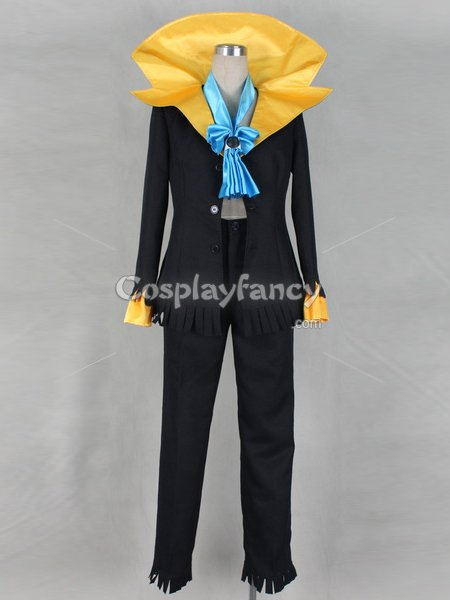 One Piece Dead Bones Brook Black Cosplay Costume
