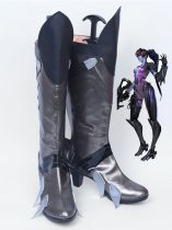 Overwatch Widowmaker Game Grey Cosplay boots