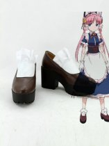Pandora in the Crimson Shell: Ghost Urn Clarion Cosplay Shoes