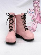 Pokemon Cosplay Jigglypuff Pink Cosplay Boots