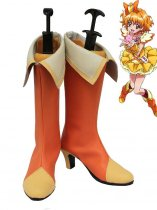 Pretty Cure Fresh Orange & Yellow Cure Pine Cosplay Boots