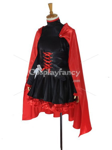 RWBY Red Trailer Ruby Rose Cosplay CostumeRwby Ruby Costume