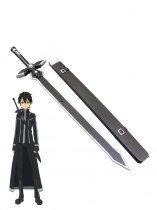 Sword Art Online Kirito Wood Cosplay Sword Black Dark Repulsor