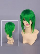 Vocaloid 3 Gumi Green Cosplay Wig