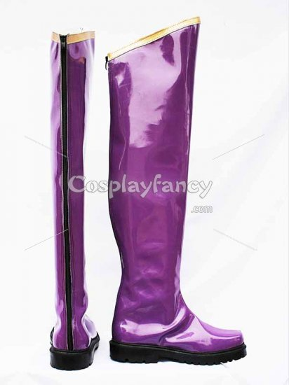 Vocaloid Gakupo Scream Purple Cosplay Boots - Click Image to Close