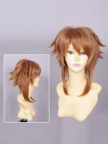 Z/X Ignition Chitose Aoba Brown Cosplay Wig