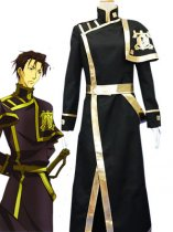 07-Ghost Cosplay Barsburg Empire Uniform Cosplay Costume