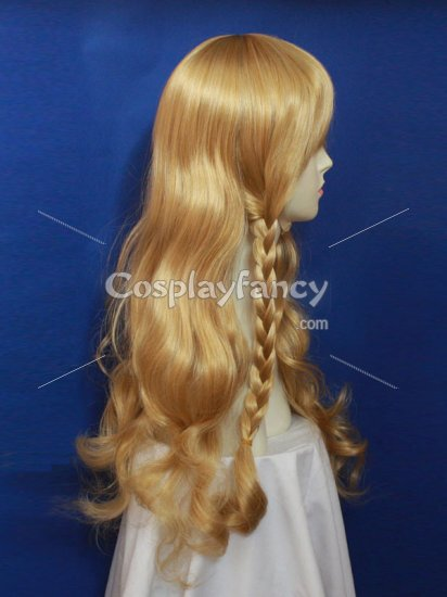 80cm Brown Project Marisa Kirisame Cosplay Wig - Click Image to Close