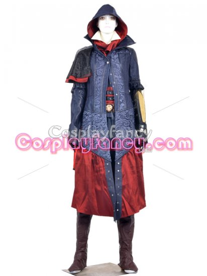 Assassin S Creed Syndicate Evie Frye Female Full Cosplay Costume