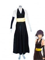 Bleach Cosplay Soi Fon Uniform Cosplay Costume