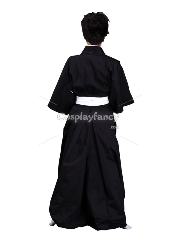 Bleach Cosplay Uniform Cloth Death's Suit Cosplay Costume
