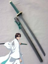 Bleach Weapon Aizen Sousuke's Cosplay Wood Sword