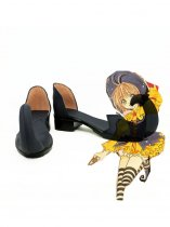 Cardcaptor Sakura Cosplay Sakura Black Cosplay Shoes
