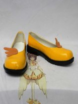 Cardcaptor Sakura Sakura Yellow Cosplay Shoes