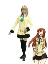 Code Geass Cosplay Ashford Academy Girls' Uniform Cosplay Costume