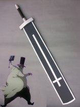 D. Gray-man Cosplay The Eanl of Millennium Black & White Cross Wood Sword